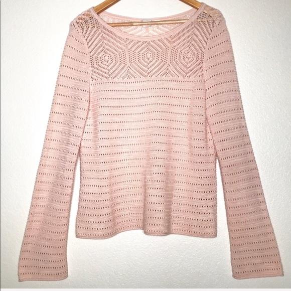 Gap Sweaters Womens Sweater Lightweight Crochet Design Poshmark